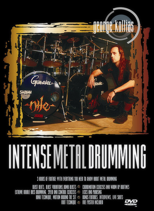 George Kollias_Intense Metal Drumming